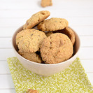 Receta de galletas de chocolate blanco, pistachos y nueces