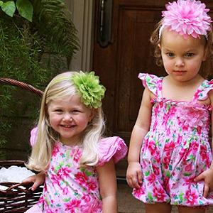 Vestidos para niñas de Baby Nay. Primavera-verano 2010