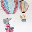 Globos colgantes para decorar los dormitorios infantiles