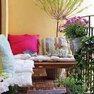 Al aire libre: terrazas y balcones