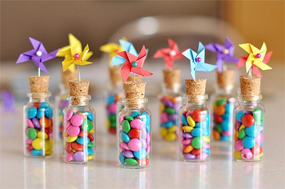 Botecitos De Caramelos Para Fiestas Infantiles Manualidades Para