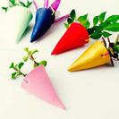 Mini macetas de colores hechas con Fimo