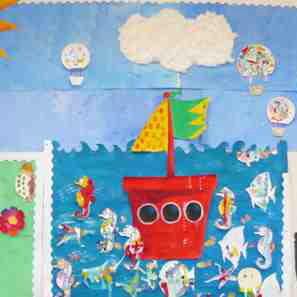 Manualidades para Hacer con Niños: ¡Un Collage!