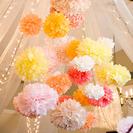 Pompones para fiestas y cumples