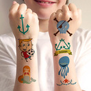 Tatuajes temporales para niños