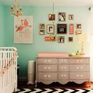 Mint para el cuarto del bebé