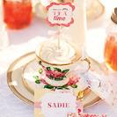 Fiesta salón de té para niñas