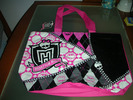 BOLSA PARA PLAYA O PISCINA MONSTER HIGH NUEVA