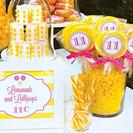 Fiesta de cumpleaños inspiración limonada