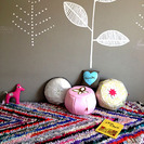 Pouf estilo Marrakech: lo último en decoración para la habitación de tu bebé
