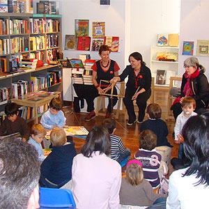 A peu de página. Libros y cuentos para niños en Barcelona.