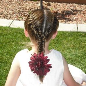 Peinados de Niñas:  Trenzas de Raíz Monísimas