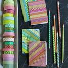 Personaliza tus cuadernos con washi tape