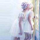 Vestidos románticos para niñas