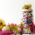 Manualidad tarros de confetti