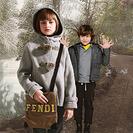 Fendi Kids y su colección de invierno
