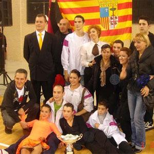Bailes de salón para niños en Zaragoza. Pilar Torcal & Jan Moller. Academia de Bailes de Salón.