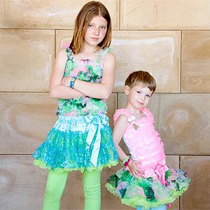 Kaiya Eve. Coloridos tutús y faldas para princesas