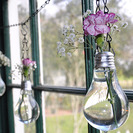 Floreros bombilla para decorar tu casa