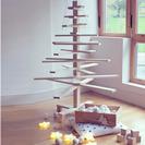 Árbol de Navidad de madera - DIY
