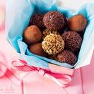 Trufas de Chocolate y Menta para Hacer con Niños o para Regalar