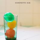 Manualidades en vídeo: cubitos de hielo confetti