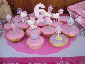 Mini tortas para cumpleaños, casi muffins...