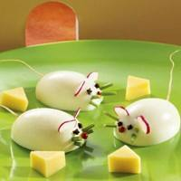 Huevos duros: Ratoncitos.