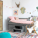 Dormitorios infantiles reducidos