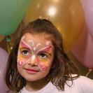 Pintacaras de mariposas para niñas