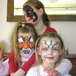 Maquillaje para Niños: Halloween 2010, Fiestas y Funciones