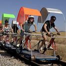 Ciclorail, excursión en bici por las vías del tren