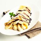 VÍDEORECETA: Crêpes con plátano y nutella