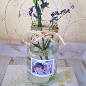 Manualiades: Jarrón para una flor muy especial