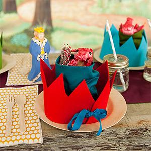 Fiesta de cumpleaños para caballeros y princesas