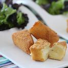 Tapas de queso empanado. El aperitivo perfecto.