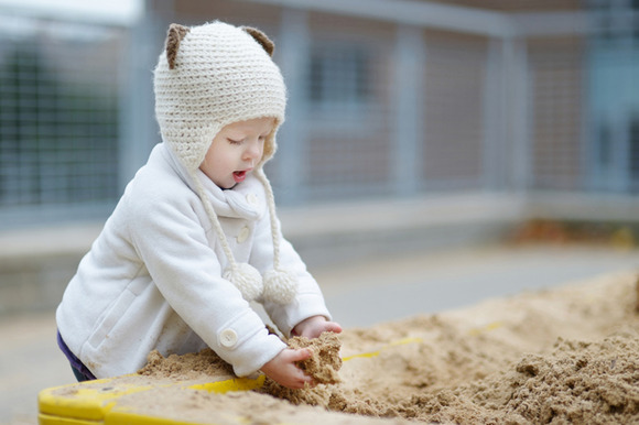 Areneros para niños