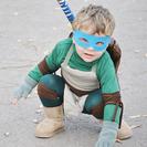 Disfraces de Halloween infantiles: Disfraz de Tortuga Ninja ¡Casero!