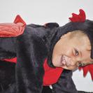 Disfraces de Halloween para niños : Disfraz de dragón ¡casero!