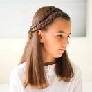 Peinado con trenzas de raiz para niñas en vídeo
