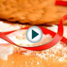 Manualidades navideñas en vídeo: Cómo hacer nieve con una vela