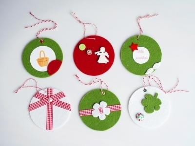 Ideas para adornar el árbol de Navidad con fieltro