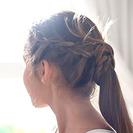 Peinado con trenzas para niñas