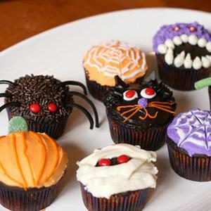 Recetas para Halloween. Cupcakes Originales
