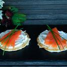 Blinis de salmón