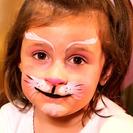 Maquillaje de gatita para niñas