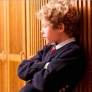 Niños que no quieren ir al colegio