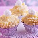 Receta de cupcakes de piña y coco