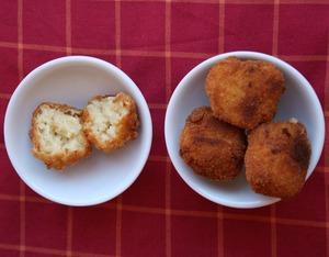 Receta Casera y facil:  Croquetas Milanesas
