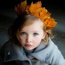 Corona de hojas